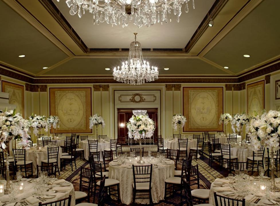 Sir Francis Drake Hotel San Francisco Wedding Venue