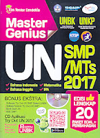 AJIBAYUSTORE  Judul Buku : Master Genius UN SMP/ MTs 2017