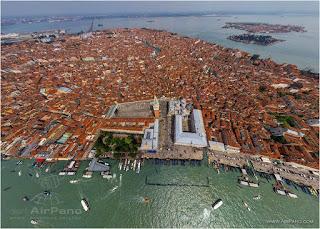 Bird's-Eye View of Venice Italy