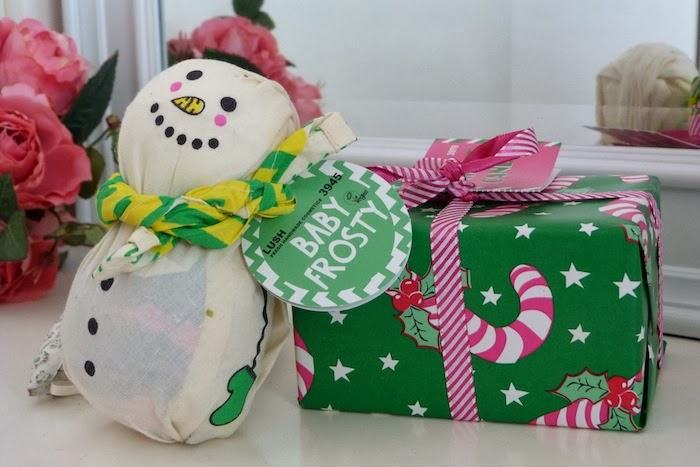 an image of lush christmas gifts 2013