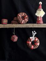 Guirnalda de arroz inflado y chocolate