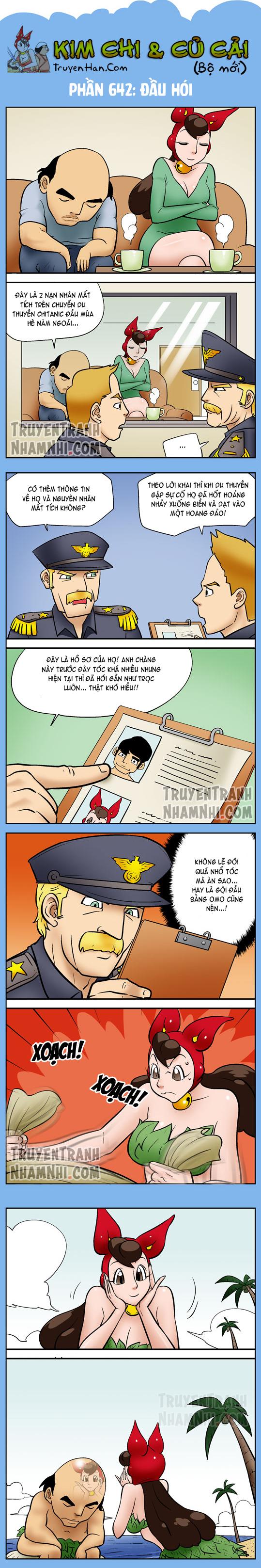 Kim Chi Và Củ Cải Phần 642: Đầu hói