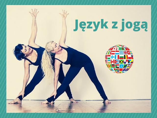 język z jogą, joga, nauka języków