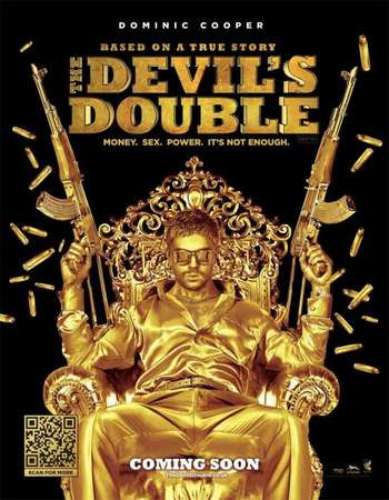 Poster Of The Devil's Double In Dual Audio Hindi English 300MB Compressed Small Size Pc Movie Free Download Only At worldfree4u.com