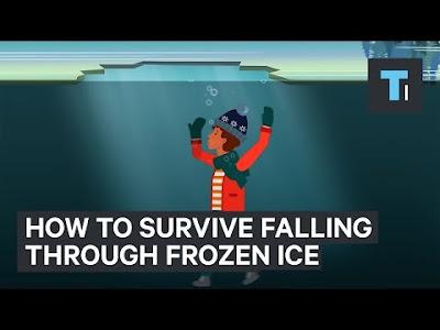 Πως θα επιζήσετε σε περίπτωση που πέσετε μέσα σε μια παγωμένη λίμνη... (ΒΙΝΤΕΟ)