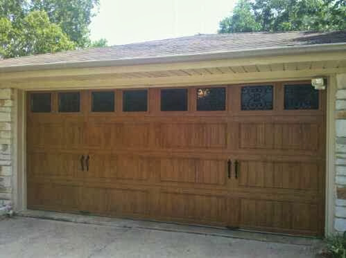 weight wood for garage door