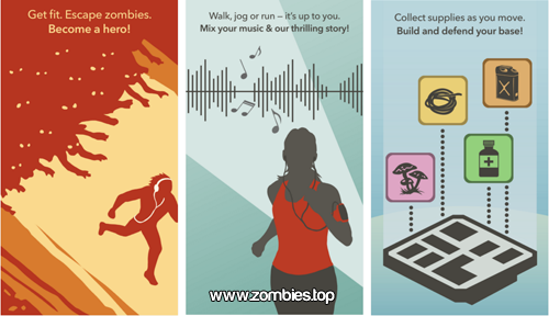 Juego Zombie Run para Android