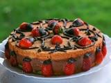 Tarta Mousse de Chocolate y Fresas