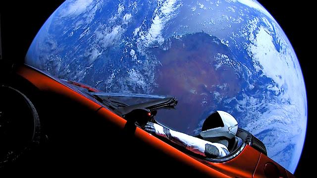 Falcon Heavy & Starman Song