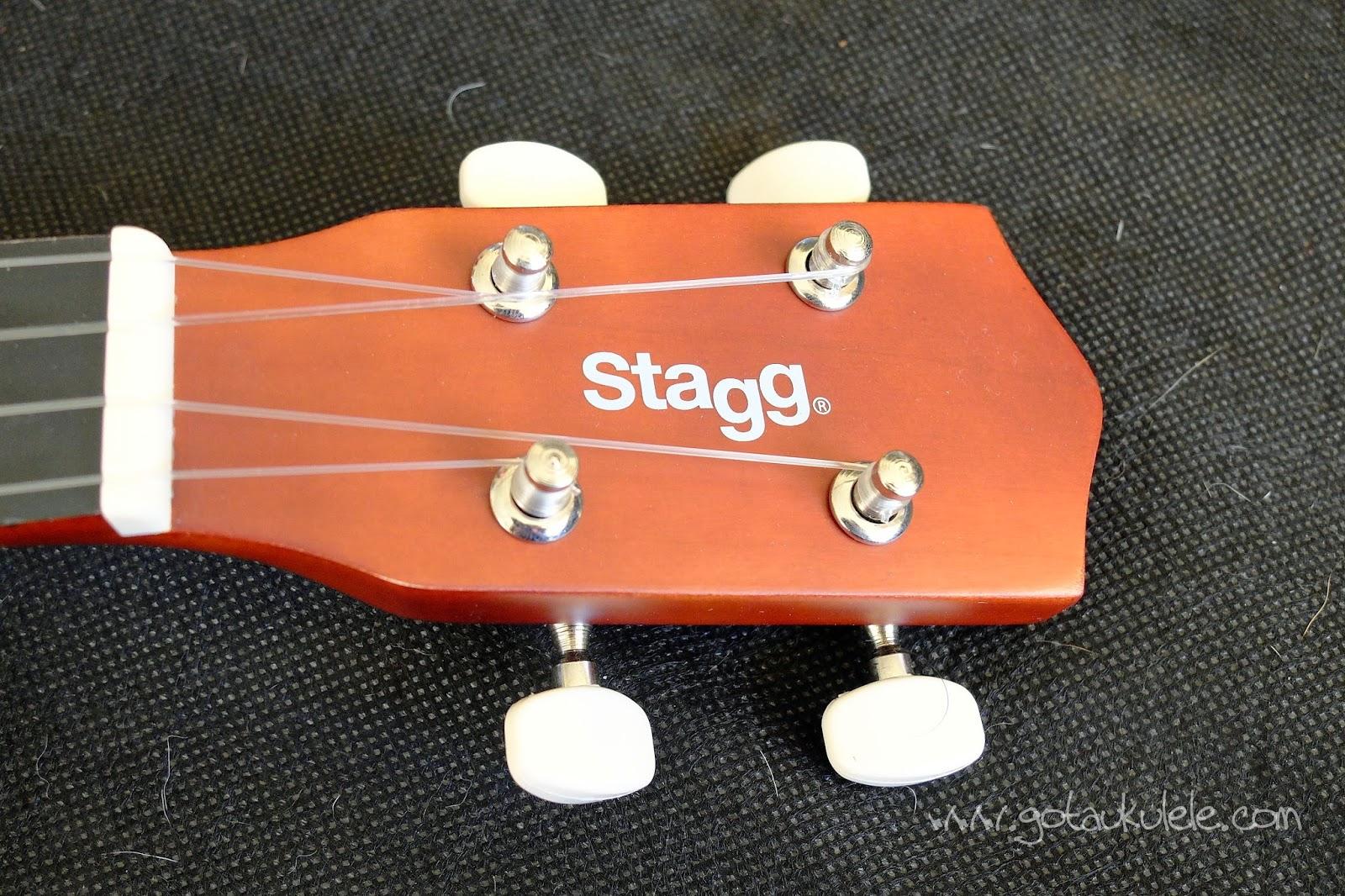 Stagg US10 Soprano Ukulele headstock
