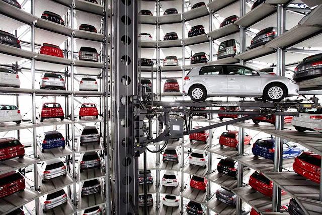 Maior estacionamento vertical do mundo