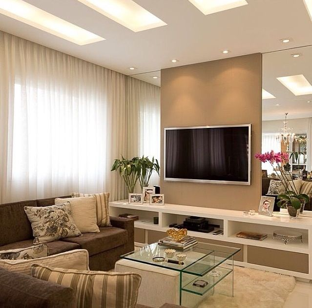 Interior Design Ideas For Home Theater: Construindo Minha Casa Clean: Consultoria De Decoração Com