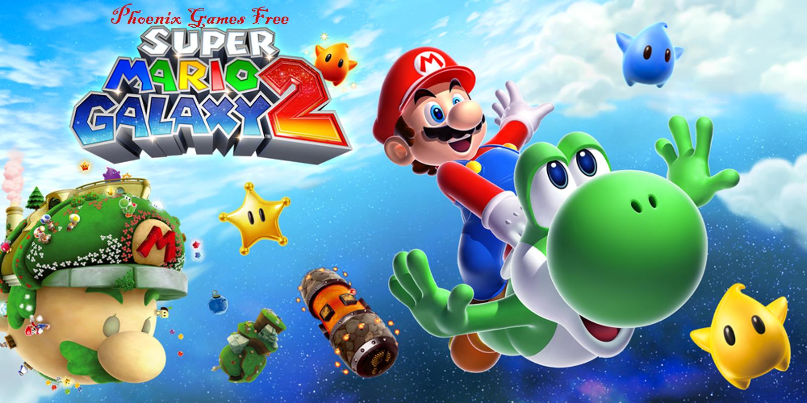 Super mario galaxy 2 free online game play game park my big rig 2
