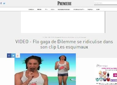http://www.premiere.fr/TV/News-Tele/VIDEO-Flo-gaga-de-Dilemme-se-ridiculise-dans-son-clip-Les-esquimaux