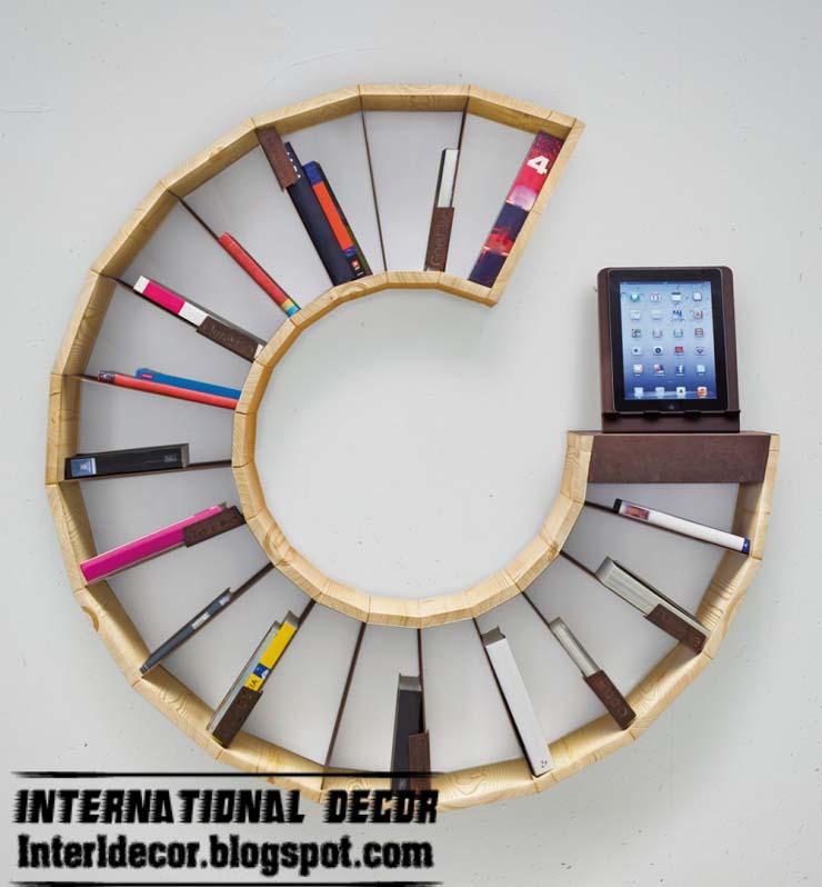 Interior Design 2014: 15 Creative bookshelves and modern ...