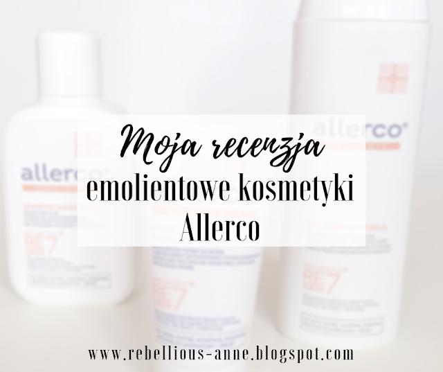 emolientowe kosmetyki Allerco