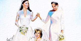 Το ανατριχιαστικό σκίτσο για τον γάμο της Μέγκαν με τον Χάρι
