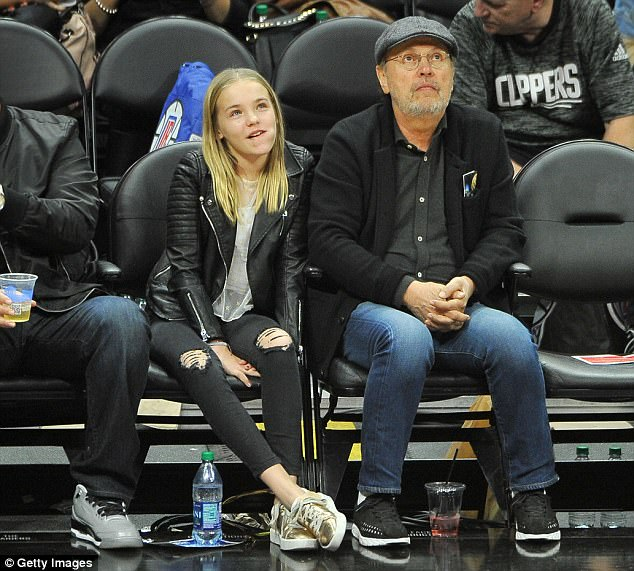 c732b41c1b8 Billy Crystal and his granddaughter. I think it is Ella.