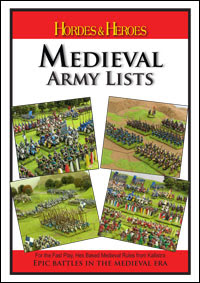 Hordes & Heroes Medieval Army Lists