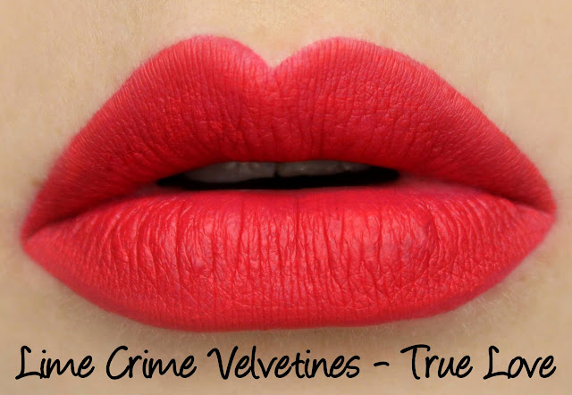 Lime Crime True Love Velvetines Set - True Love Swatches & Review