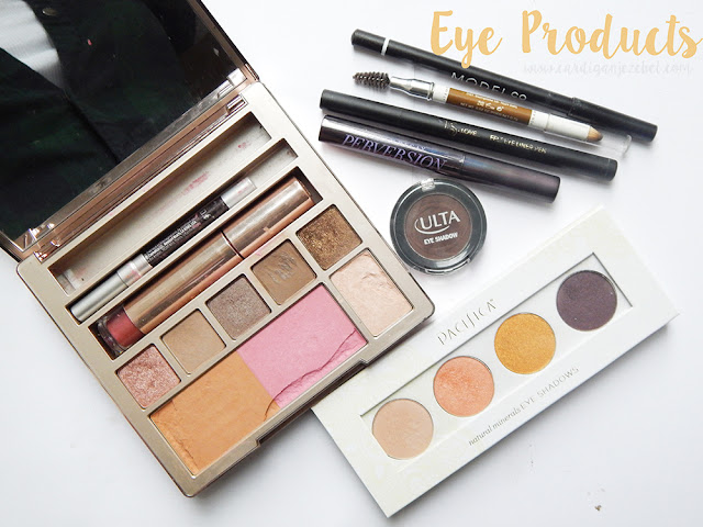 eye products from my makeup bag