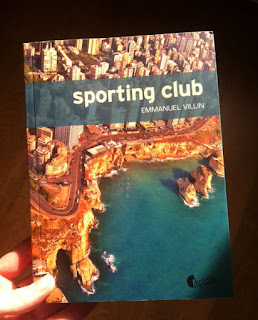 Couverture de Sporting Club d'Emmanuel Villin, pau aux éditions Asphalte