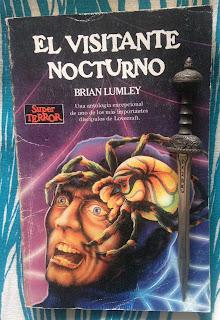 Portada del libro El visitante nocturno, de Brian Lumley