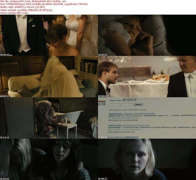 Melancolia 2011 DVDRip Subtitulos Español Latino [1 Link]