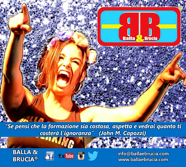 Corsi formazione Balla&Brucia in tutta Italia, da giugno ad ottobre 2016