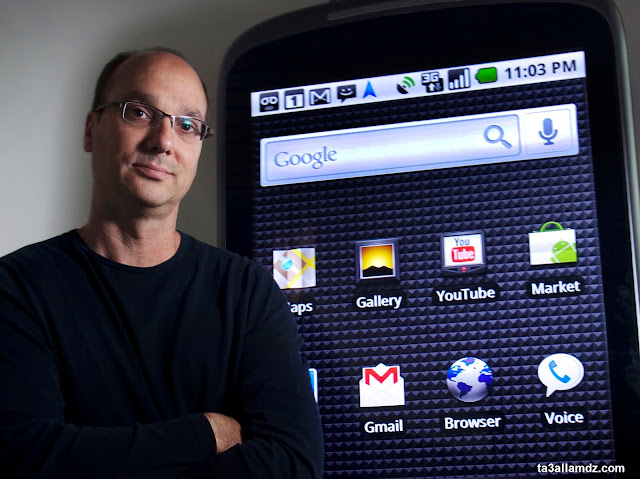 "success operating system ""Android"" Andy Rubin Story"