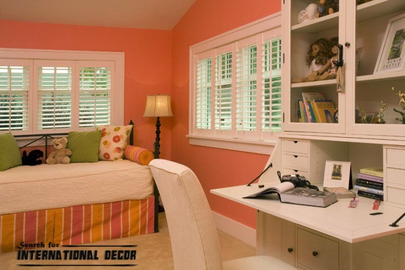 small child's room design,how to save space,fold-out furniture for kids