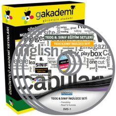 Görüntülü TEOG 8.Sınıf İngilizce Görüntülü Eğitim Seti 9 DVD