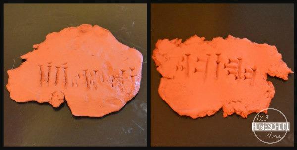 Mesopotamia, Gilgamesh, Cuneiform clay slabs