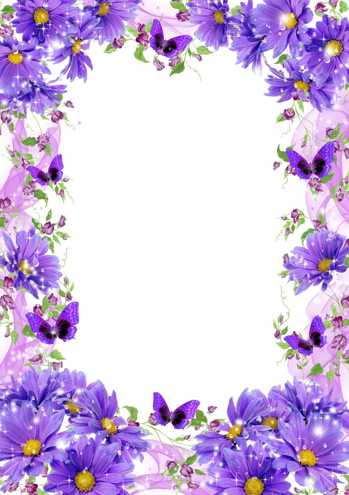 Flowers Frame Flower Frame