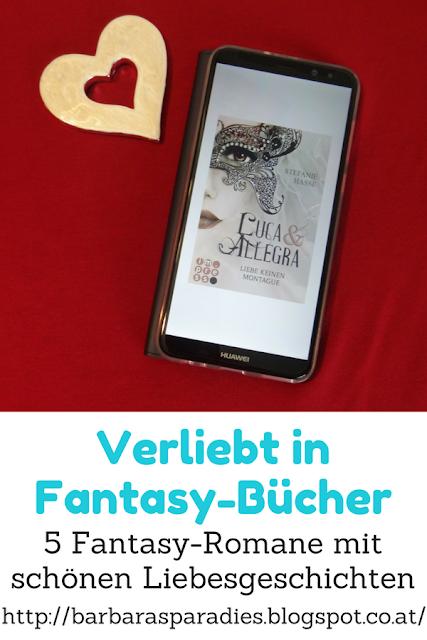 Verliebt in Fantasy-Bücher: 5 Fantasy-Romane mit schönen Liebesgeschichten - Luca & Allegra - Dilogie von Stefanie Hasse