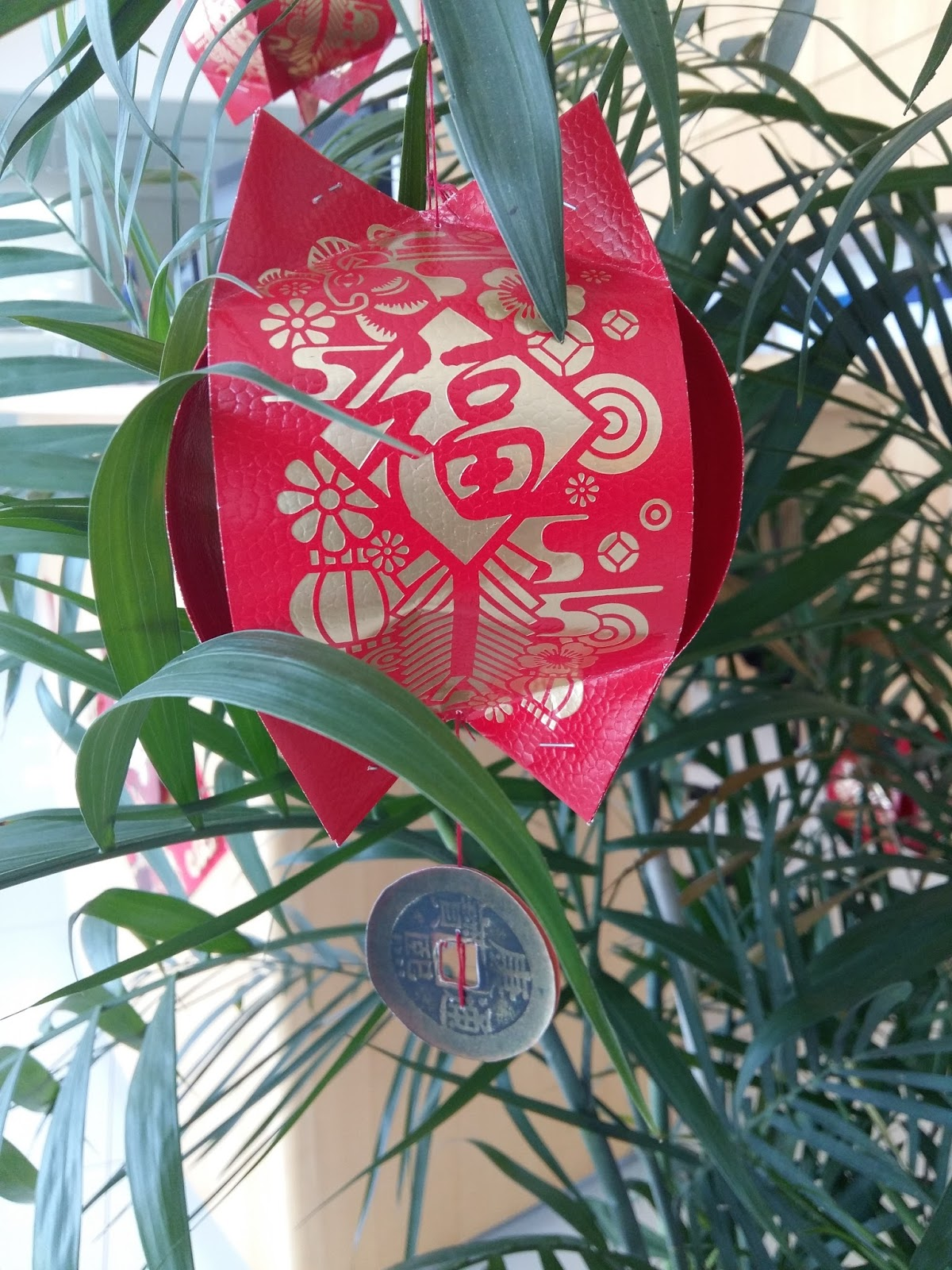 Crafts by orangeberry chinese lantern with ang pow packets for Ang pow decoration craft work