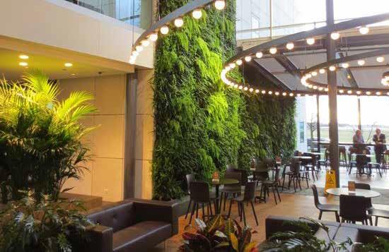 Khu cafe thư giãn tại The Golden Plam