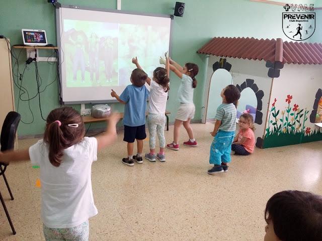 baile niños escuela verano arucas