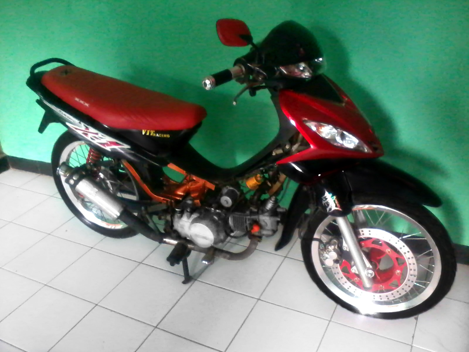 Modifikasi Motor Supra Fit 2006 Drag Terbaru Sukaon