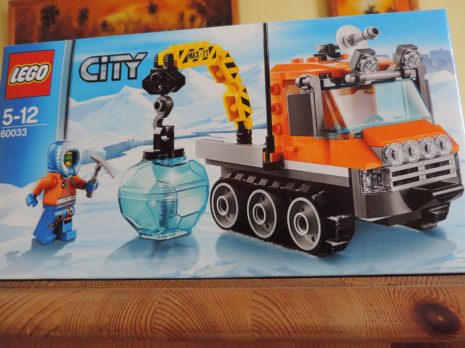lego ice crystal lifter truck ice pick and researcher