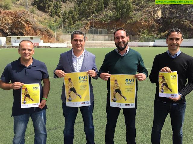 Tijarafe acogerá este verano, por segundo año consecutivo, el VI Campus UD Las Palmas