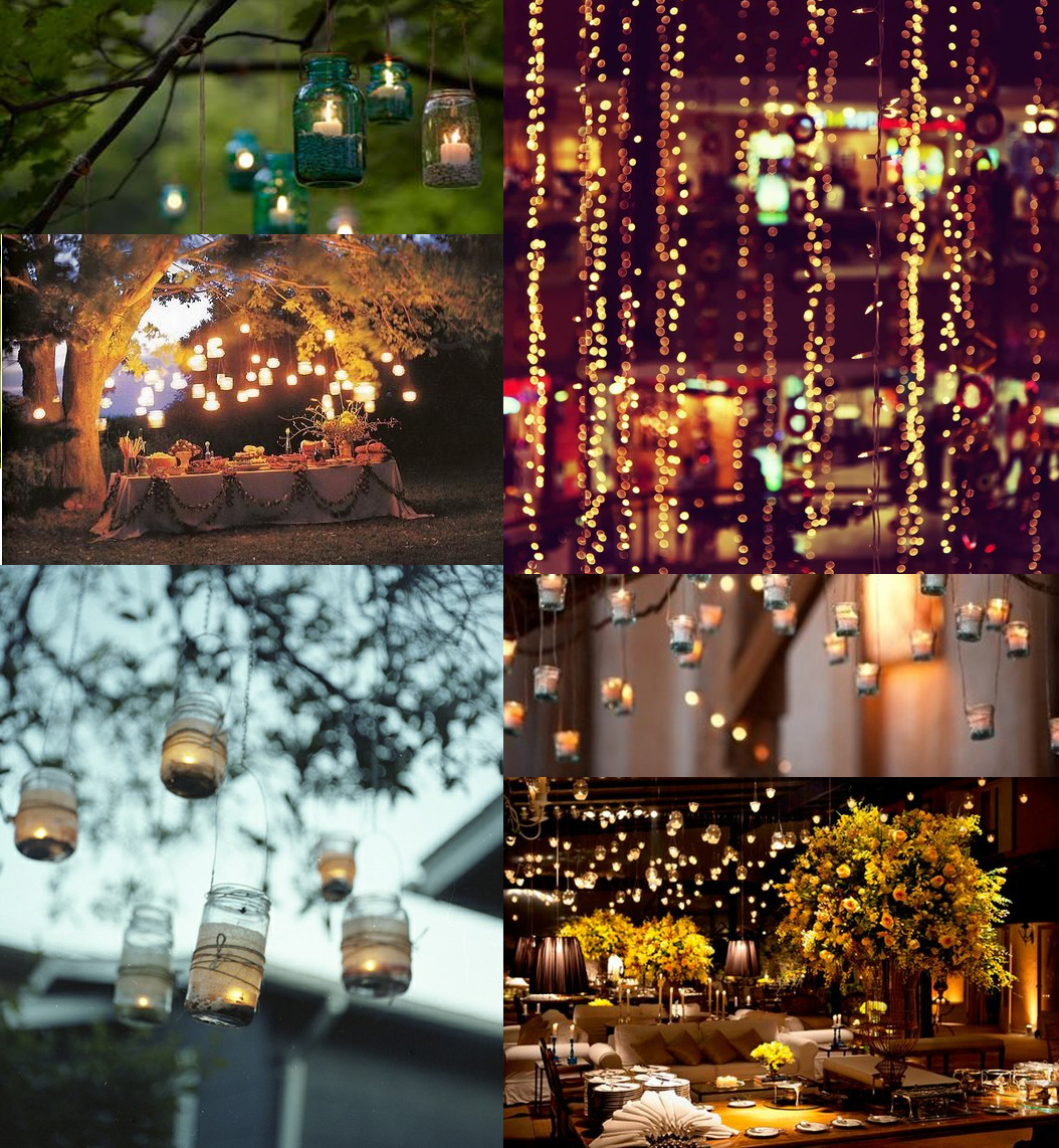Ruche: Wedding Wednesday: Creative Lighting Ideas