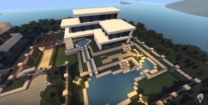 Case Moderne Minecraft : Wunderkammer d minecraft design