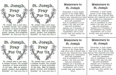 photo about Printable Prayer to St. Joseph named Glance towards Him and be Radiant: St. Joseph Memorare Prayer Playing cards