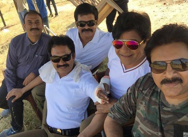 Sets Of Sardaar Gabbar Singh Stills. Pawan Kalyan & Kjal Aggarwal