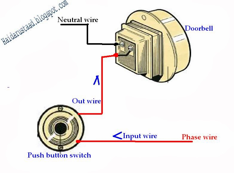 How To Control Doorbell By Push Button Switch