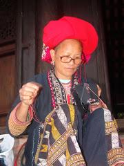 Tribu sombreros rojos - Sapa, Vietnam