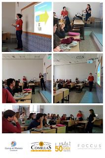 Borja Montoto, Socio Director de Cuevas & Montoto Consultores, durante una clase de
