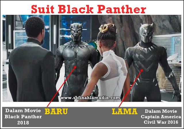 Teknologi Nano Milik Black Panther Marvel | Tak Sangka Ada Dua Black Panther, Satu Purple, Satu lagi Oren. Korang Pilih Mana Satu?