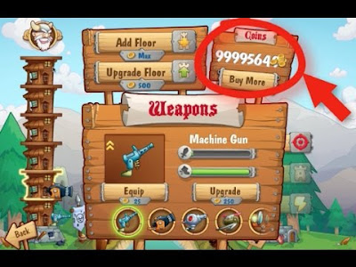 Download Tower Crush: fighting weapons Apk MOD